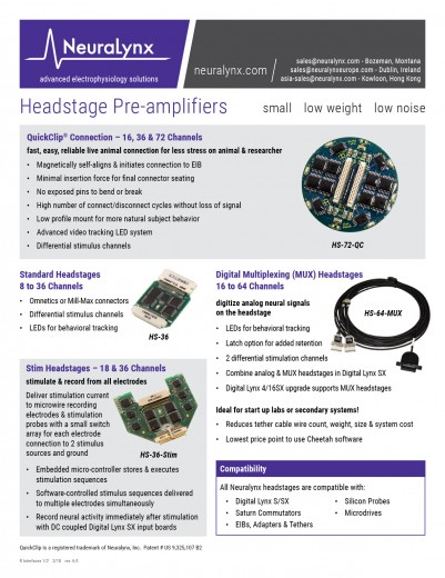 Interfaces Flyer