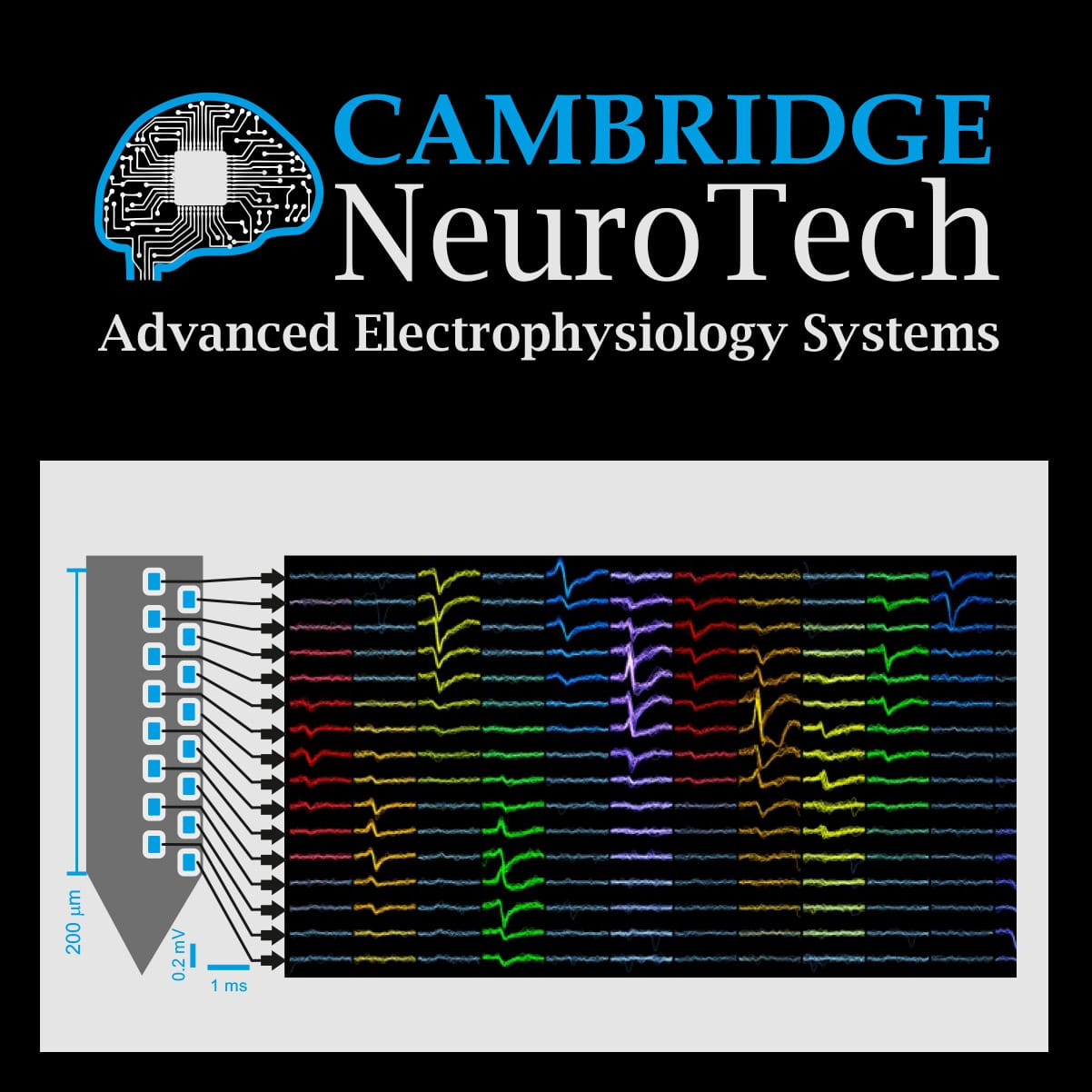 Cambridge NeuroTech . Neuralynx Distributor since 2017.