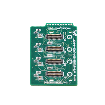Input side of FreeLynx 256 Channel 4 Port LVDS Bridge Board