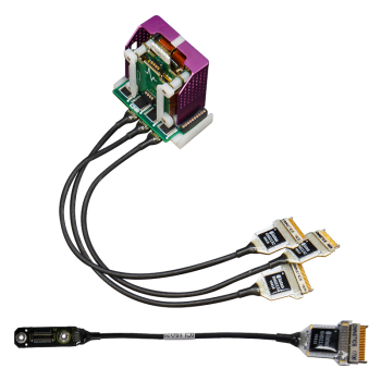 FreeLynx 64 channel LVDS tether