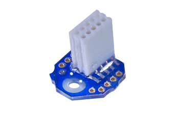EIB-8 from Neuralynx, 8 channel Electrode Interface.